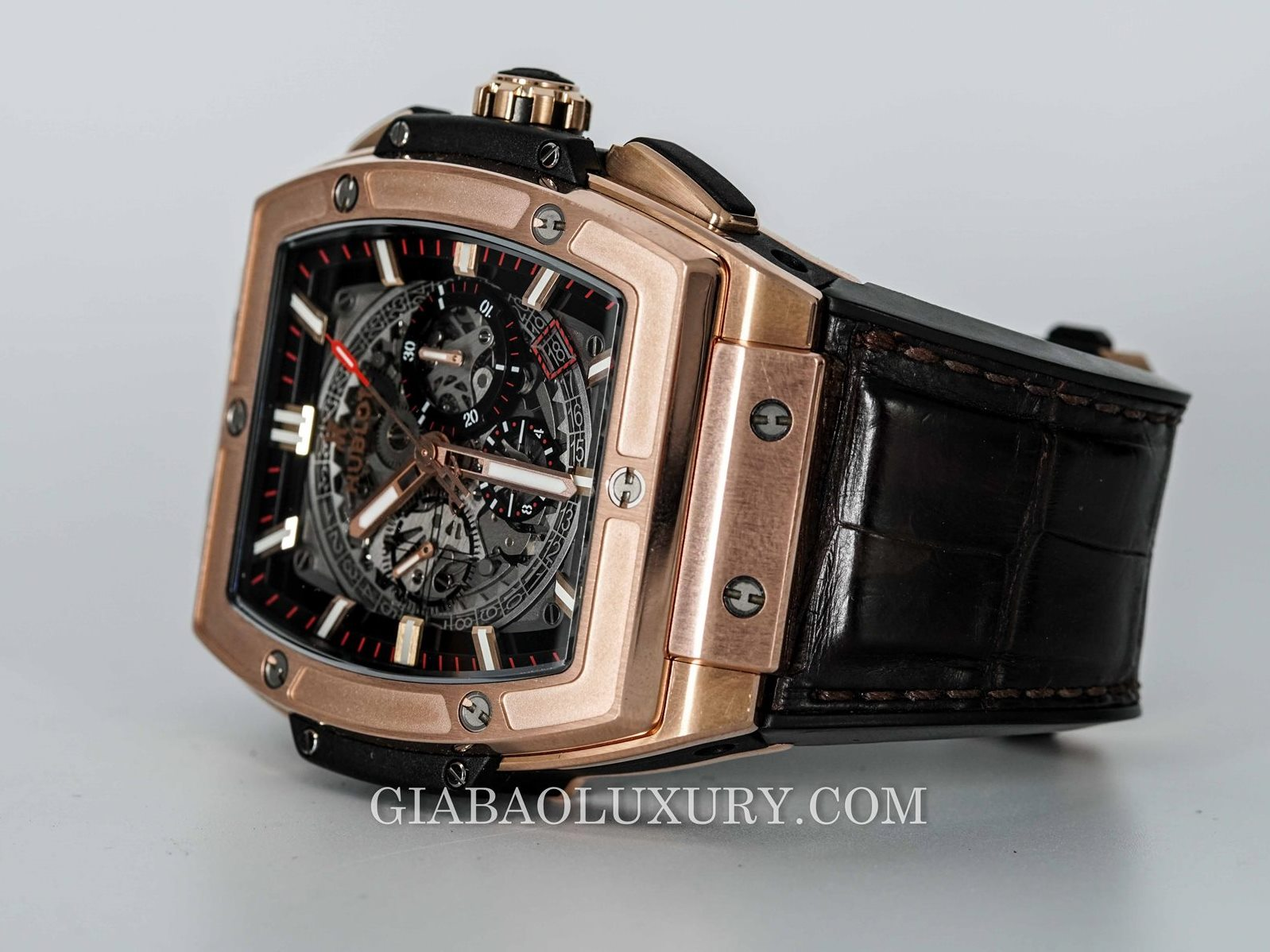 Đồng Hồ Hublot Spirit of Big Bang King Gold 45mm 601.OX.0183.LR