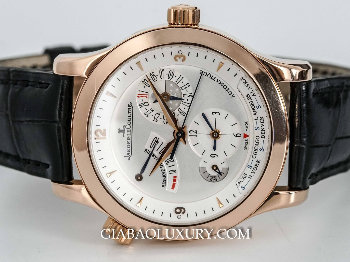 Đồng Hồ Jaeger Lecoultre Master Geographic