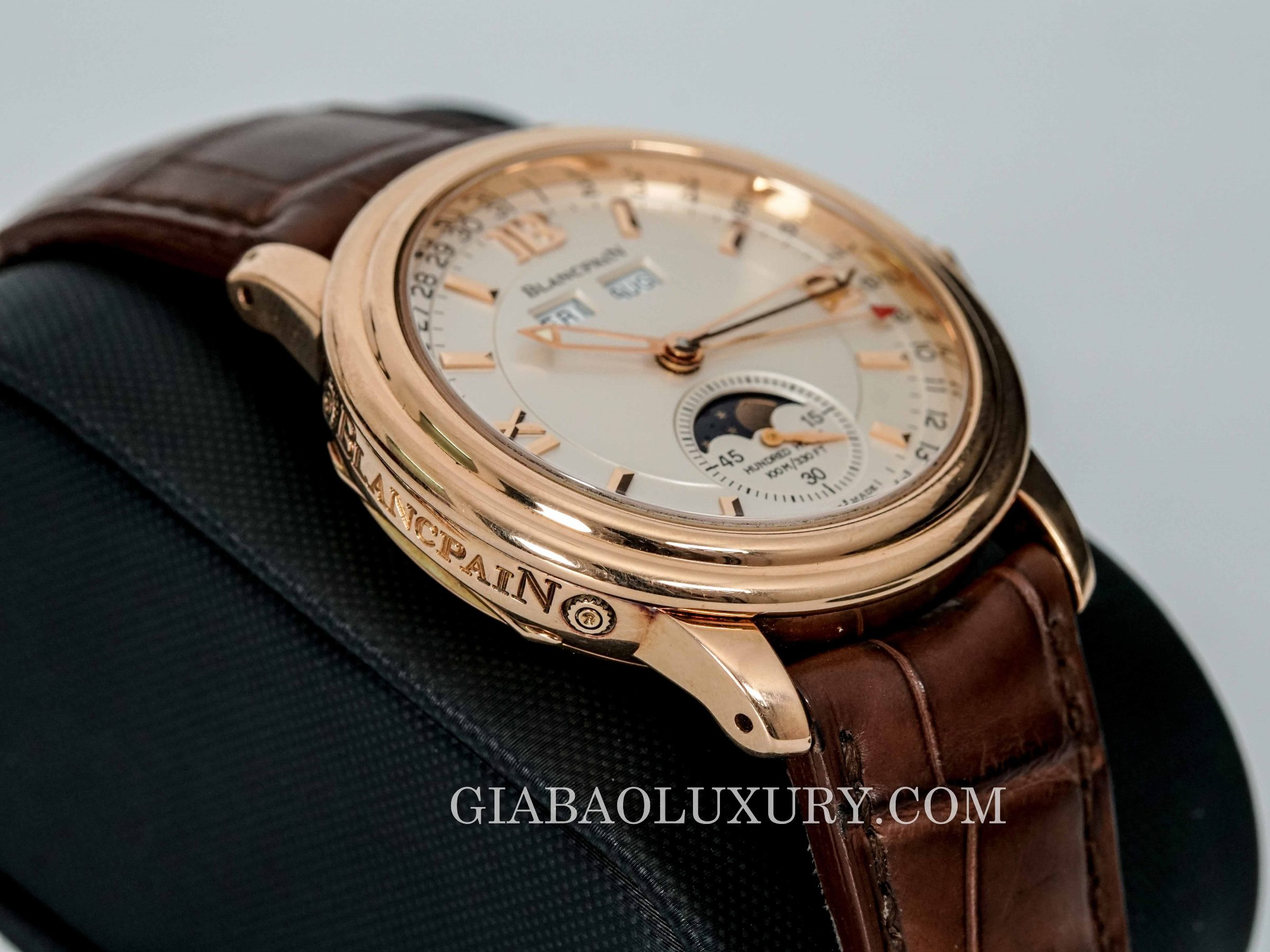 Đồng Hồ Blancpain Leman Moonphase Complete Calendar 3563A-3642A-53B