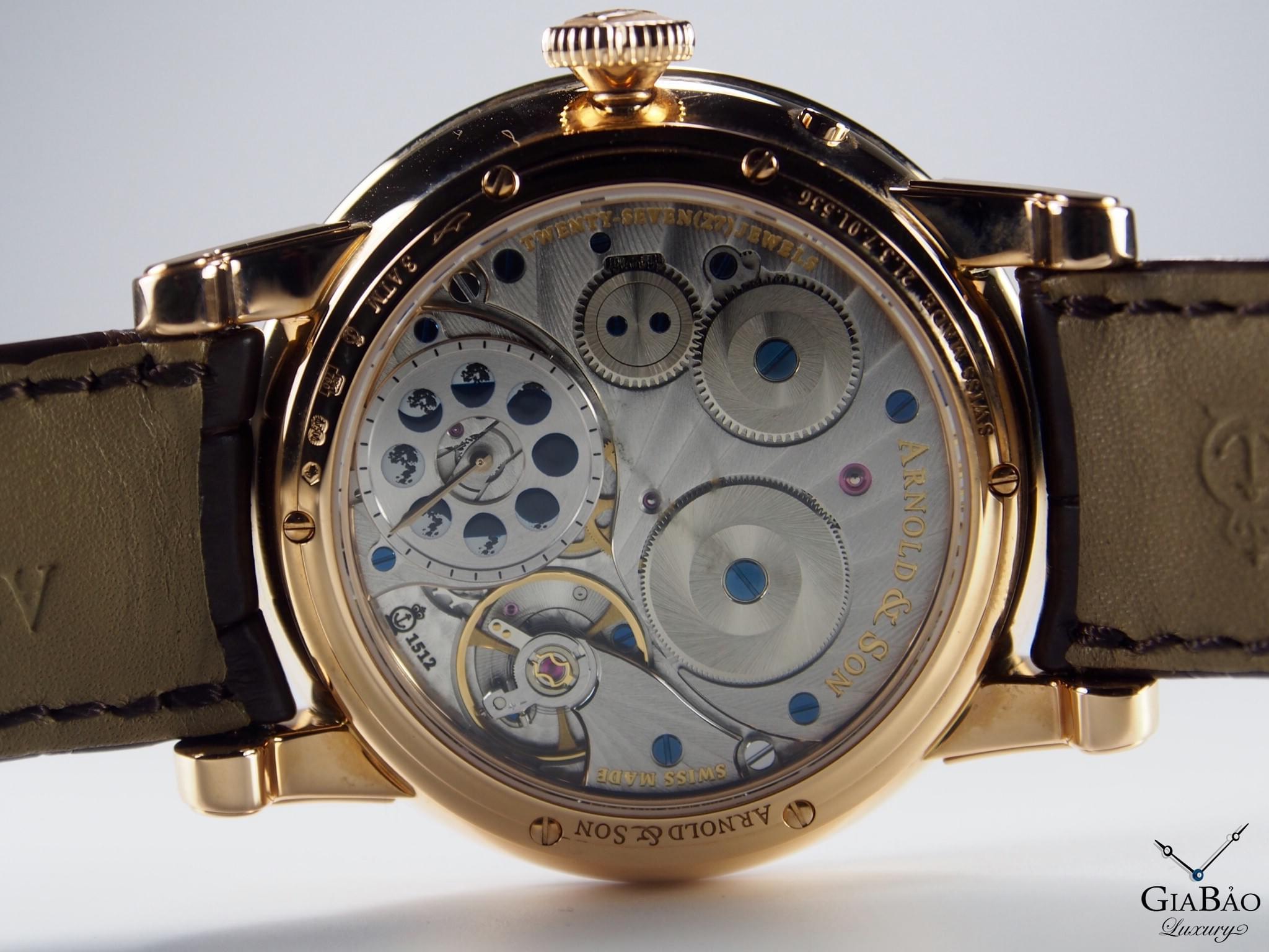 Đồng hồ Arnold & Son HM Double