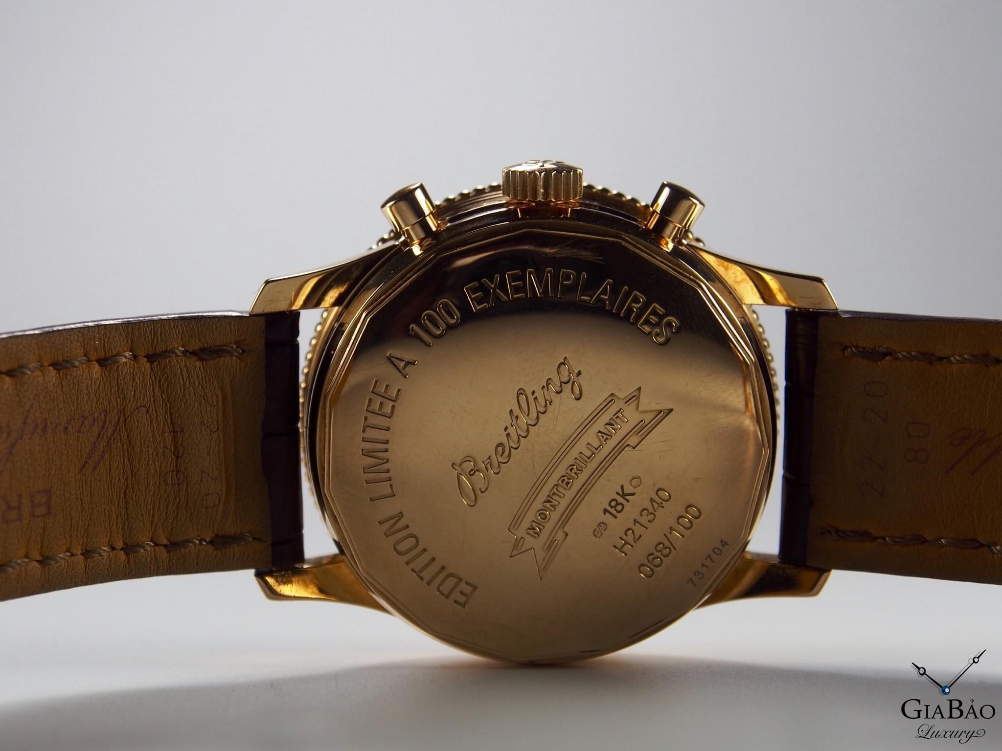 Gia bảo luxury - Đồng hồ Breitling Montbrillant