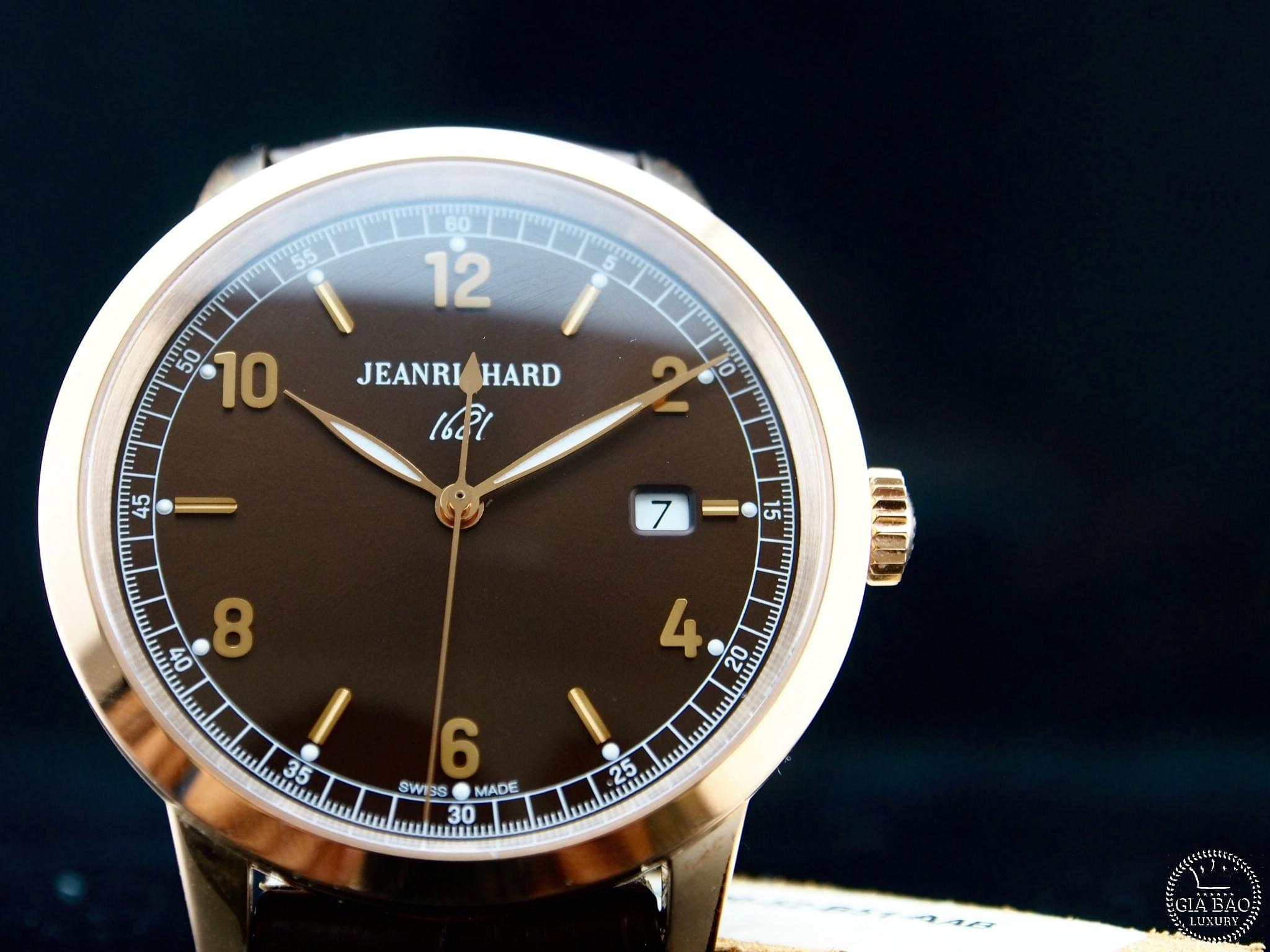 Đồng Hồ Jeanrichard 1681 Ronde Central Second