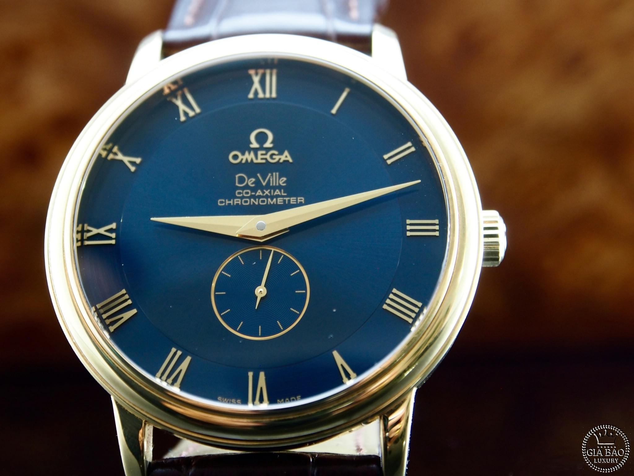Đồng Hồ Omega Deville Co-Axial Chronometer 38.5mm