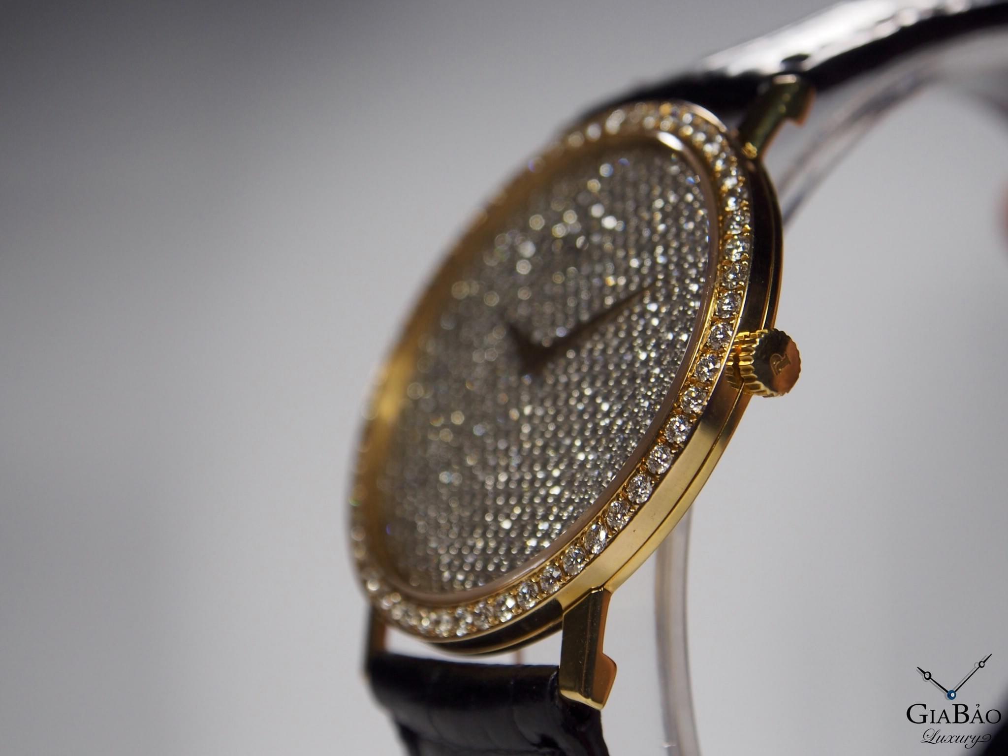 Đồng Hồ Piaget Altiplano 18k Gold Full Diamond