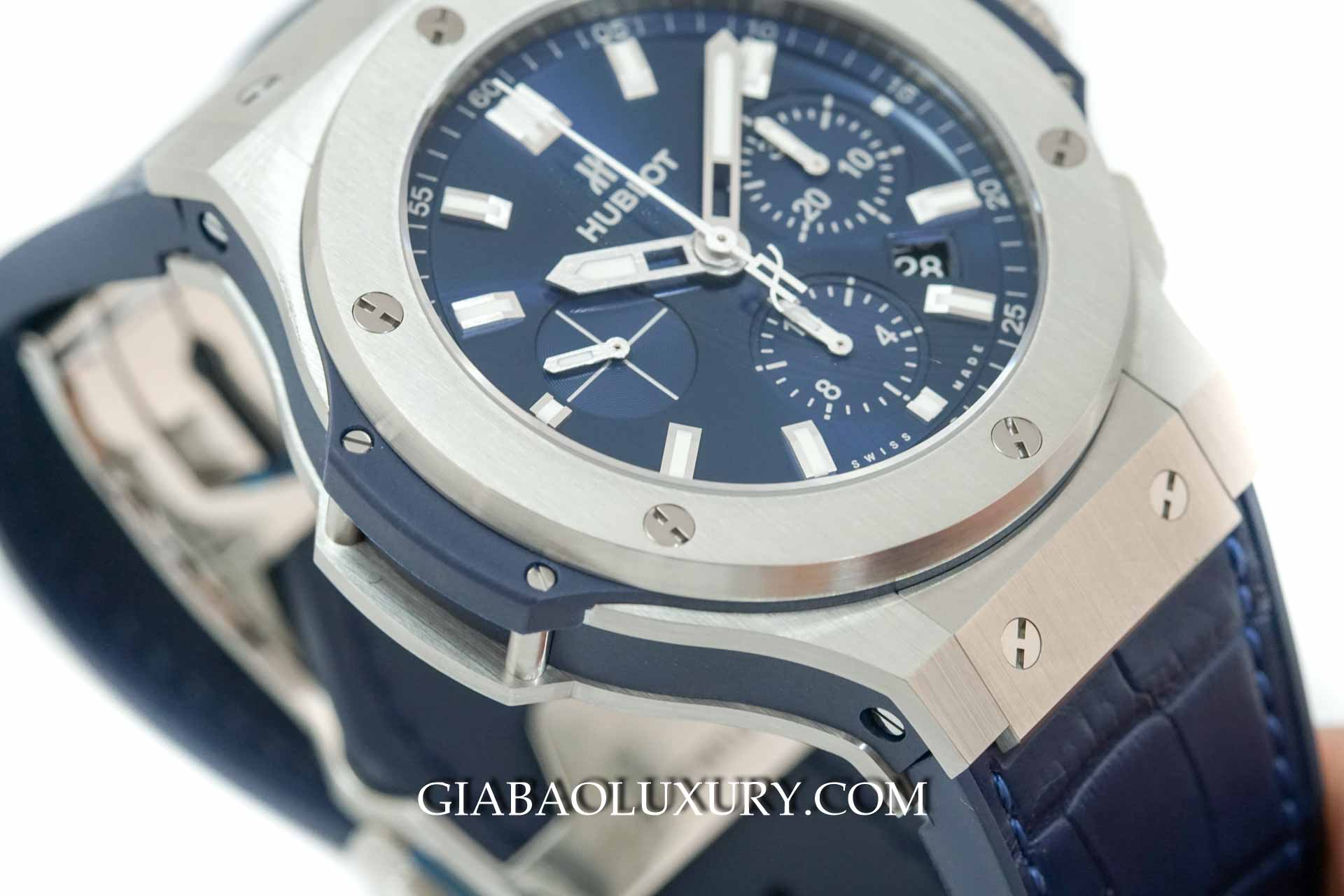 Đồng Hồ Hublot Big Bang Steel Blue Chronograph 44mm 301.SX.7170.LR