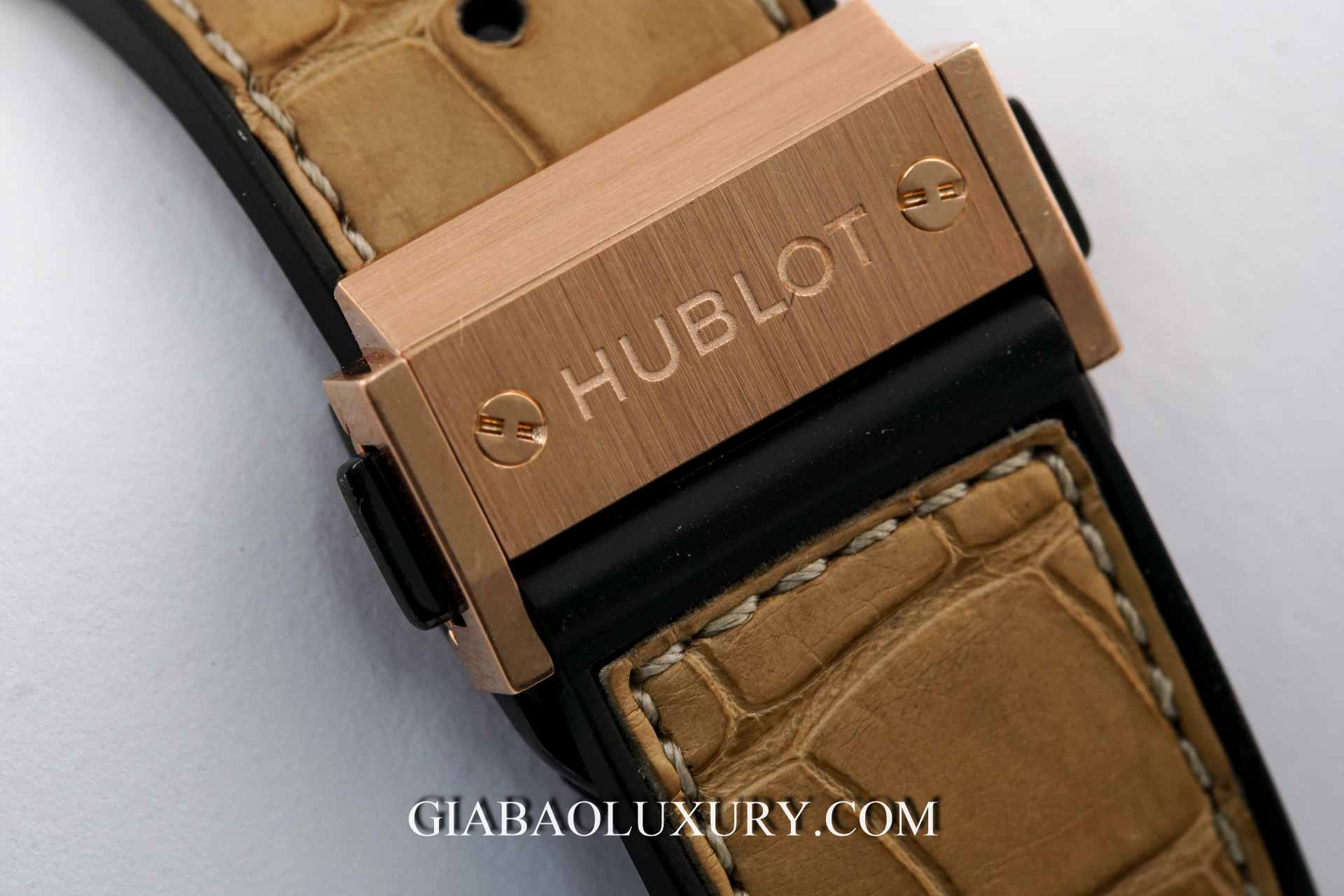 Đồng hồ Hublot Big Bang Gold Linen 41mm 341.XN.1280.NR.1204