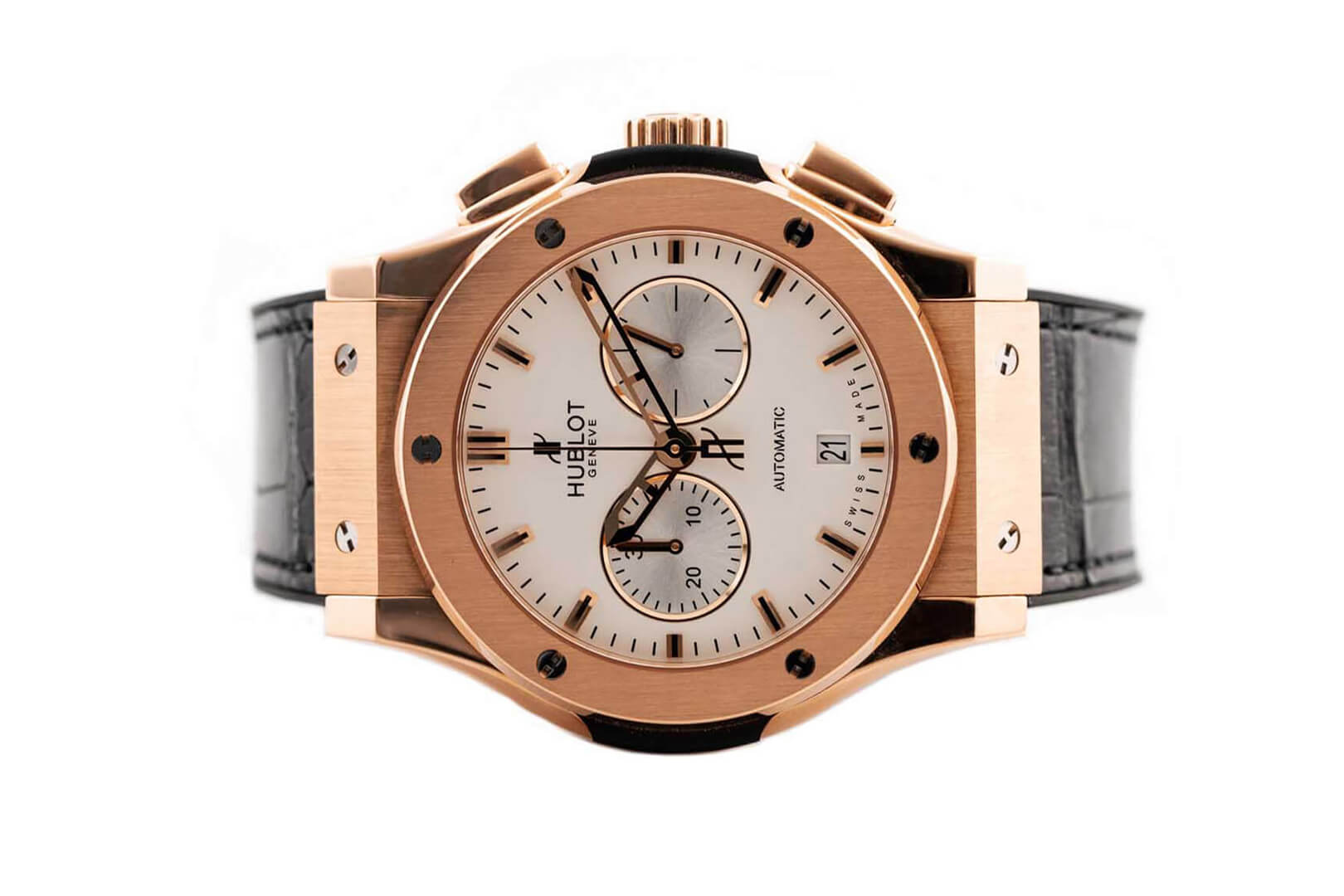 Đồng Hồ Hublot Classic Fusion Chronograph King Gold Opalin 42mm 541.OX.2610.LR