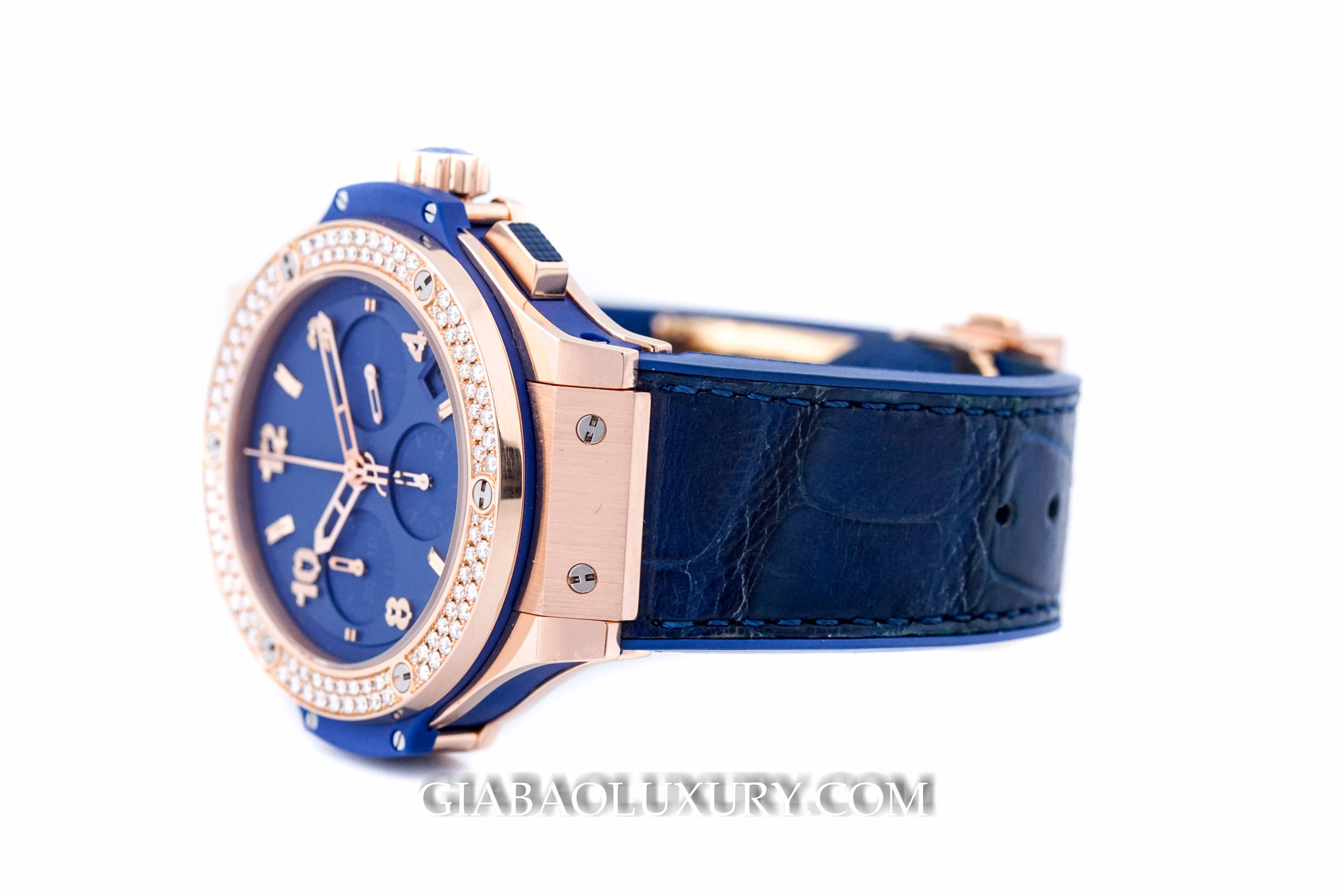 Đồng Hồ Hublot Big Bang Tutti Frutti Blue 41mm 341.PL.5190.LR.1104