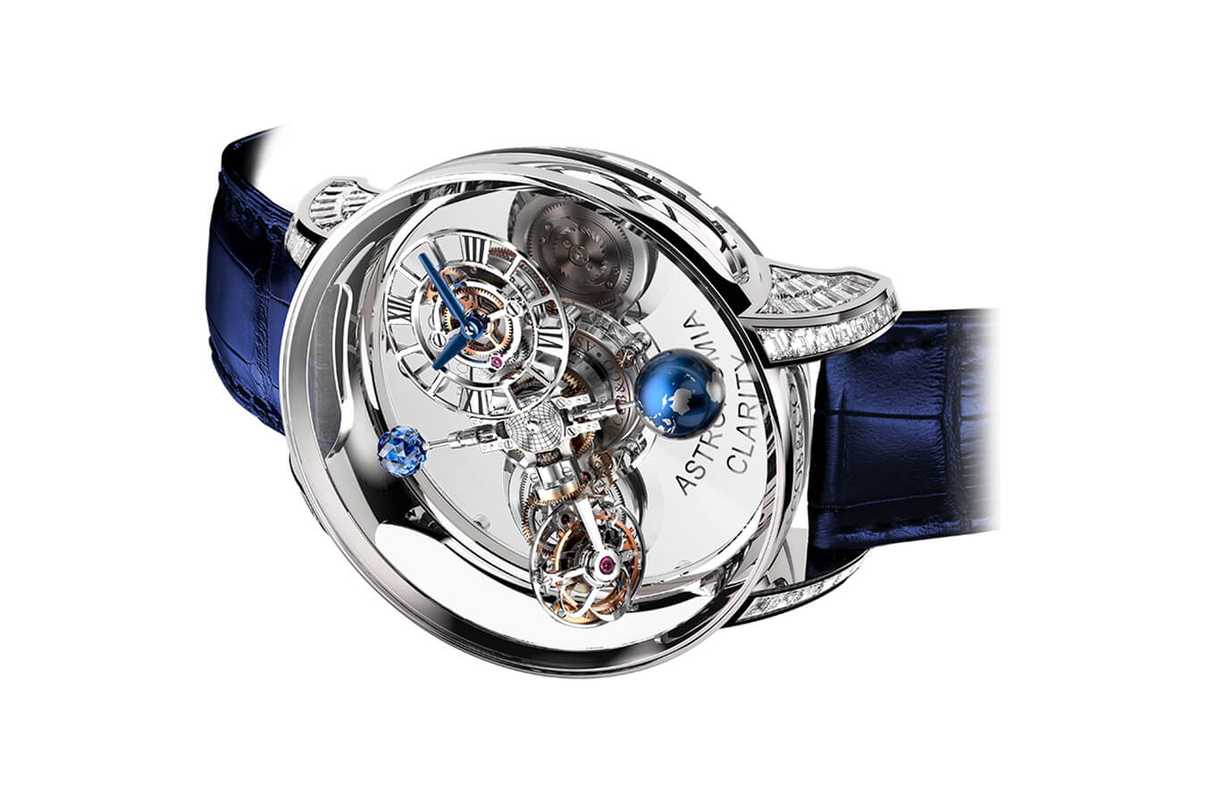 Đồng Hồ Jacob & Co Astronomia Flawless Clarity Baguette AT820.30.BD.SB.A