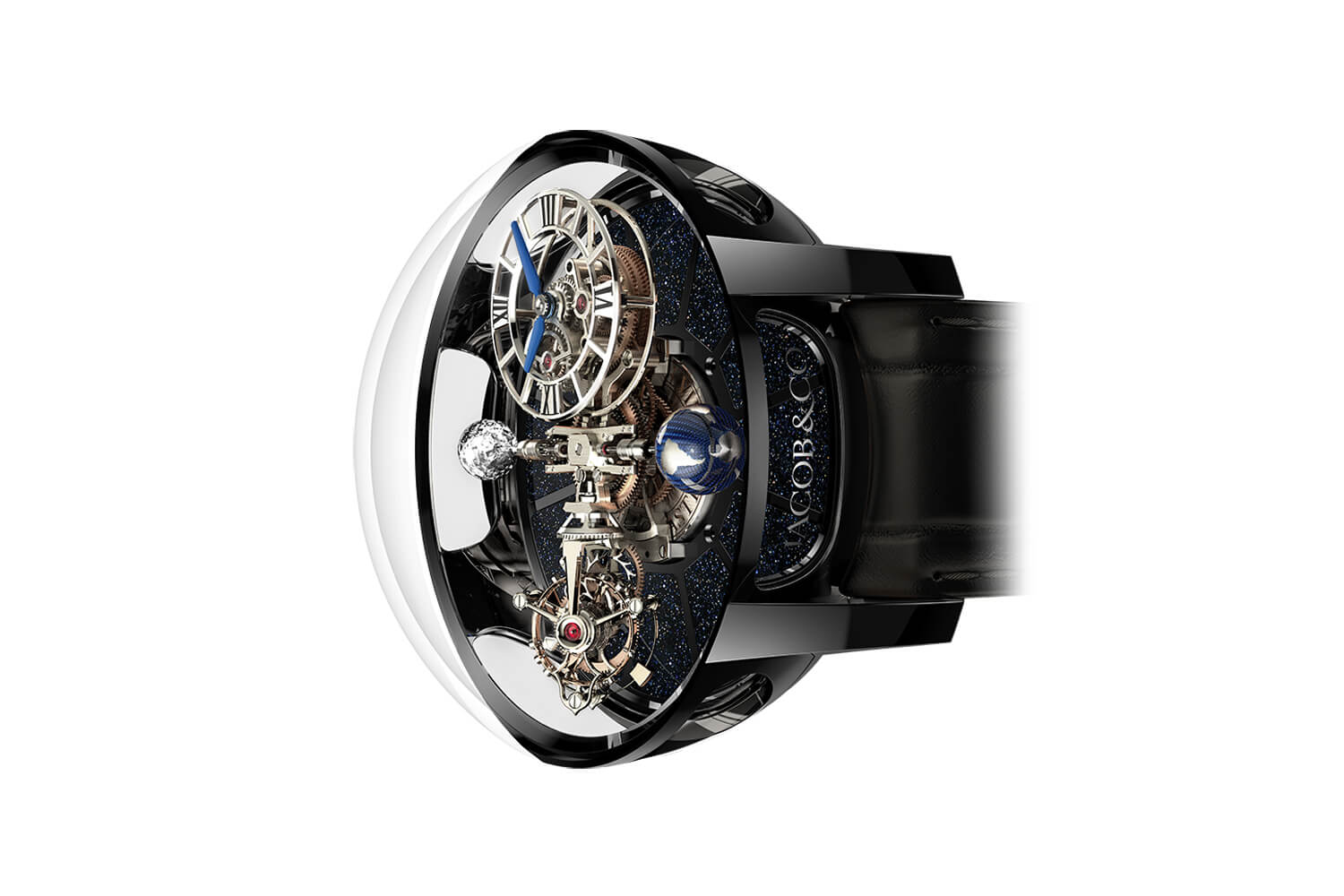 Đồng Hồ Jacob & Co Astronomia Tourbillon Black Gold AT100.31.AC.SD.A