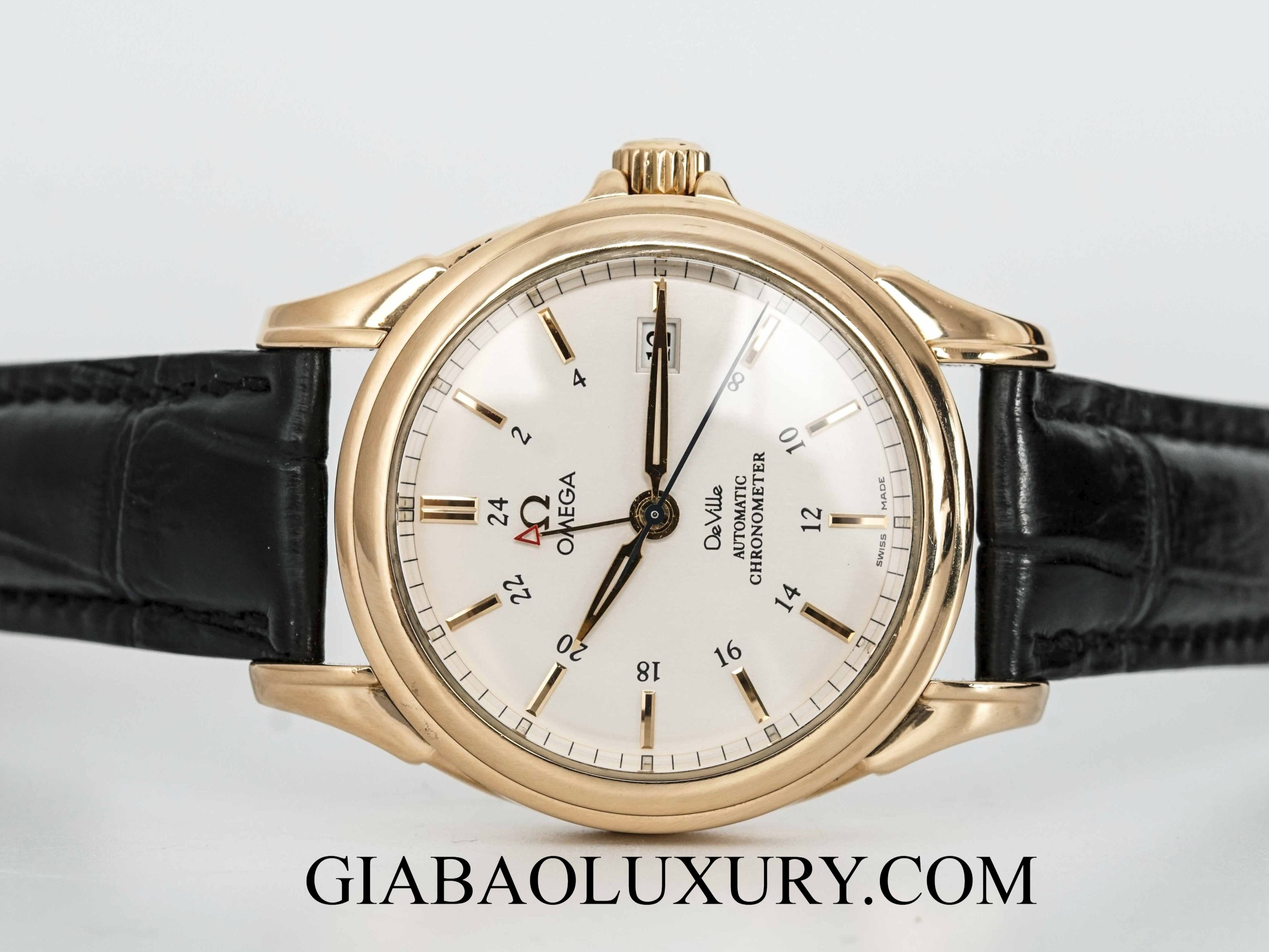 Đồng Hồ Omega Deville Co-Axial Escapement GMT 39mm
