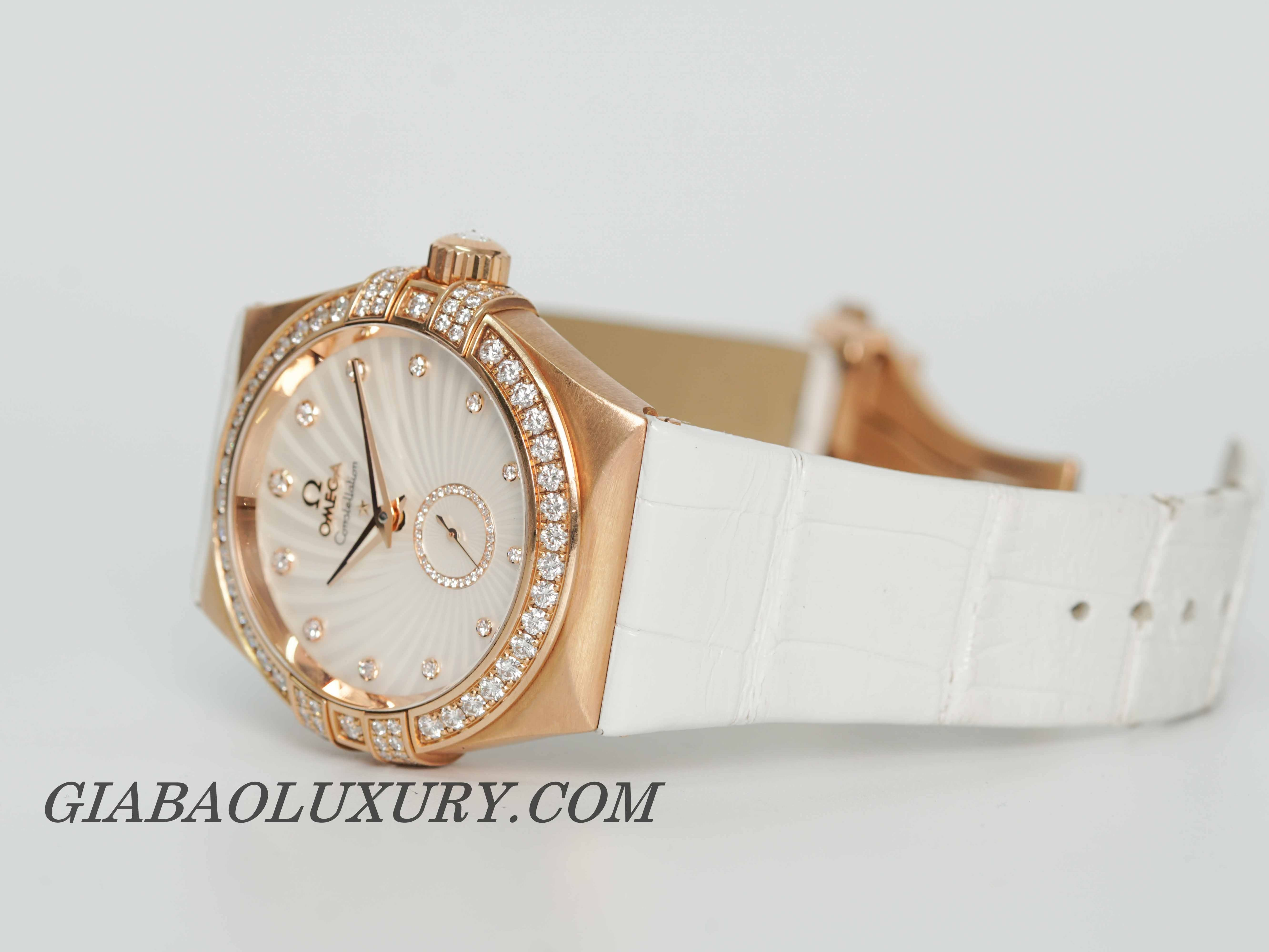 Đồng Hồ Omega Constellation Co-Axial Small Seconds 35mm 123.58.35.20.55.001