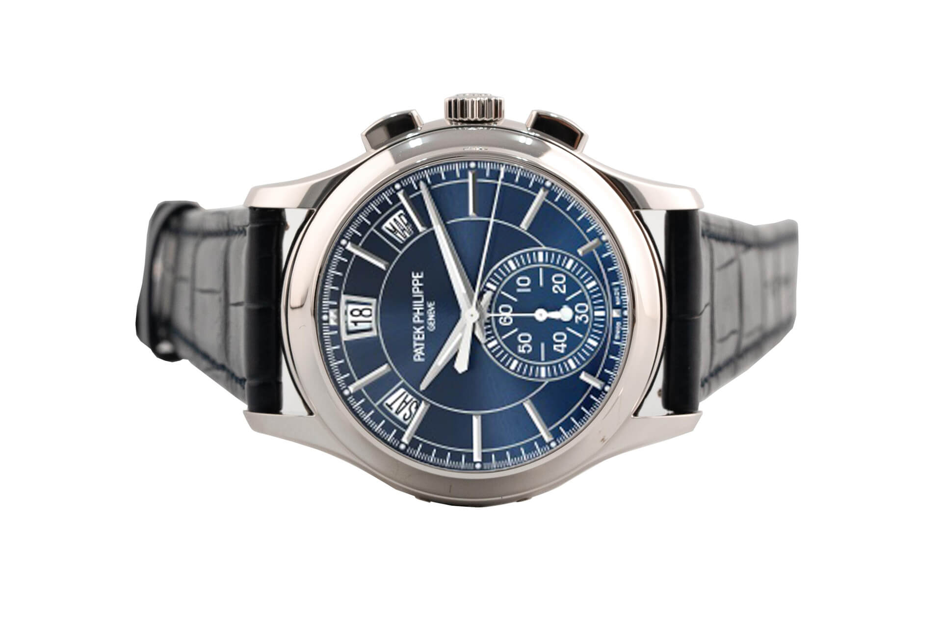 Đồng Hồ Đồng Hồ Patek Philippe Complications Flyback Chronograph Annual Calendar 5905P-001