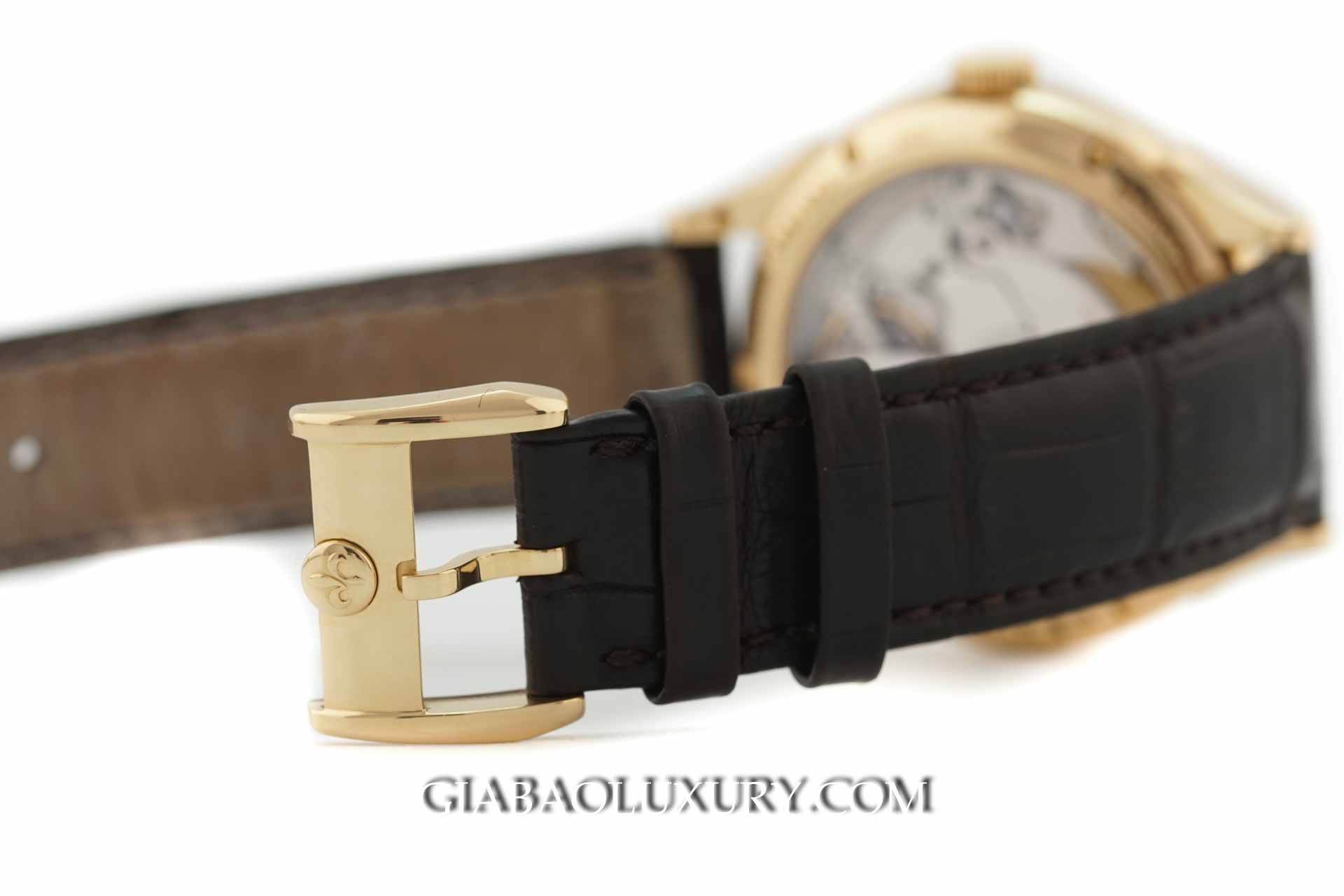 Đồng Hồ Pequignet Rue Royale Moonphase Yellow Gold