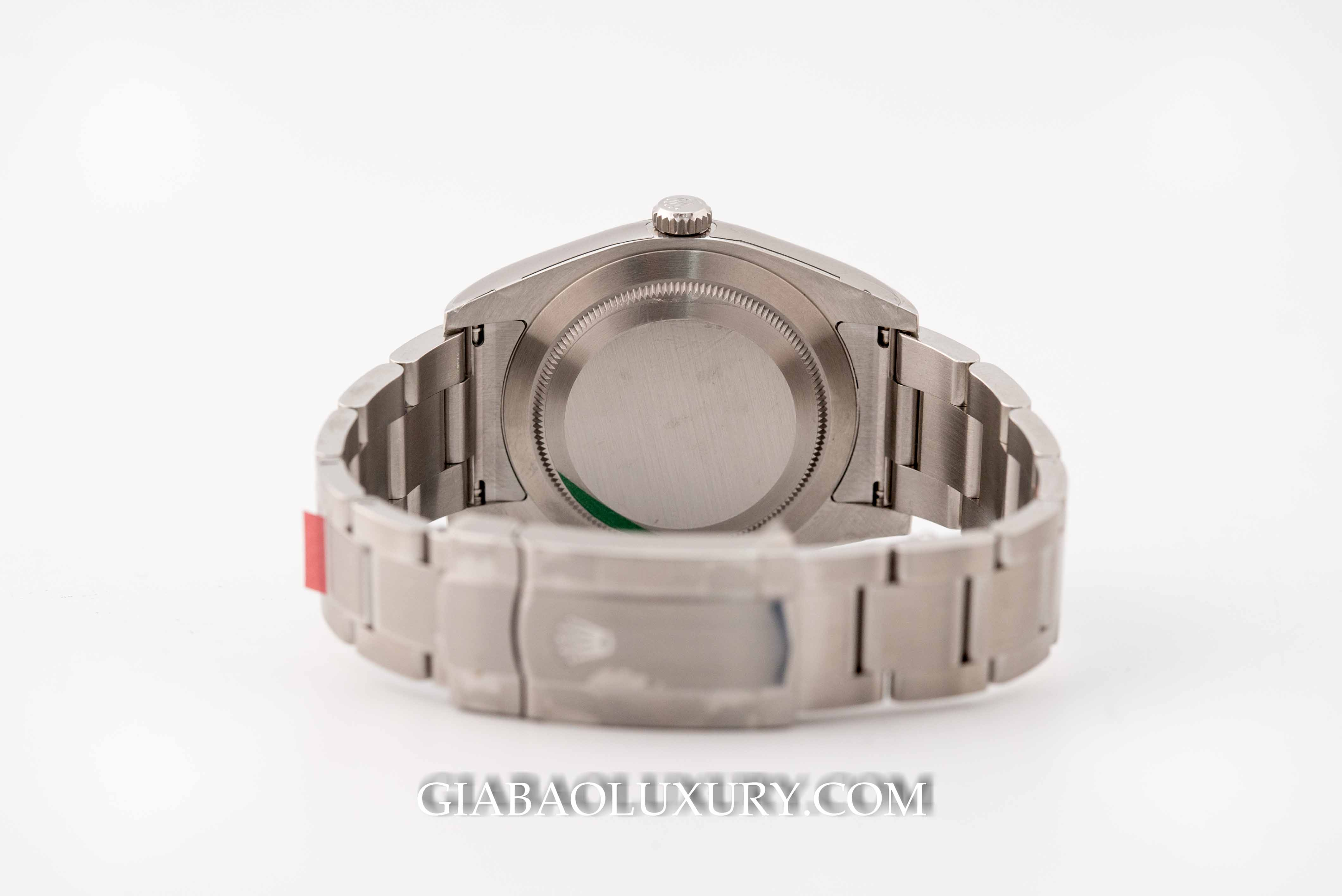 Đồng Hồ Rolex Oyster Perpetual 114300 Mặt Số Xanh
