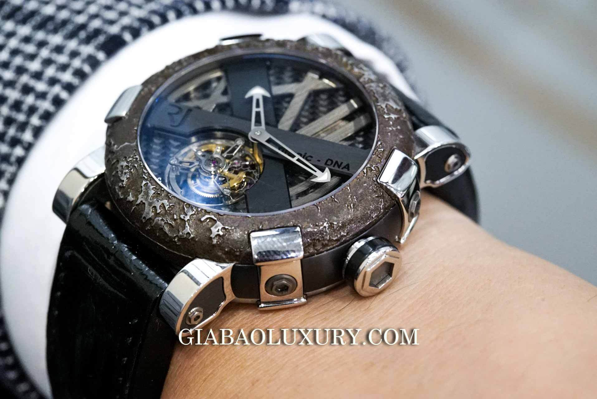 Đồng Hồ Romain Jerome Titanic DNA Steel Tourbillon