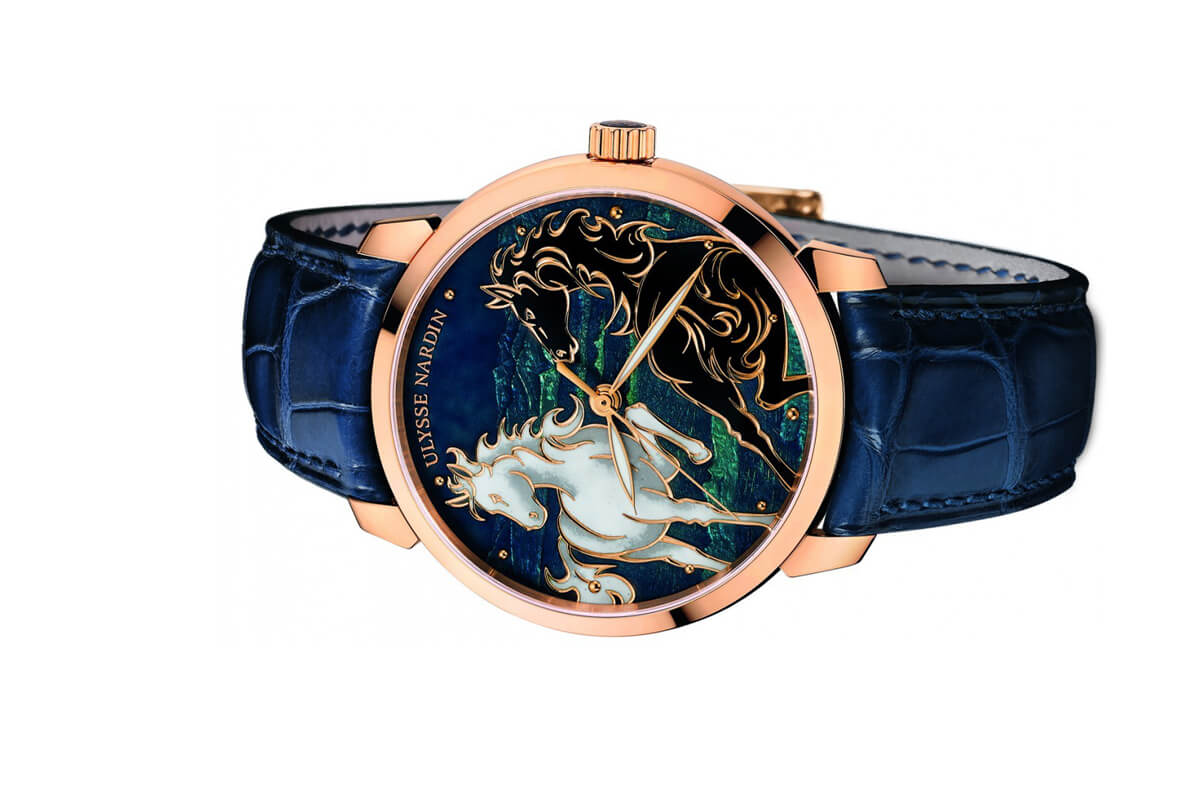 Đồng hồ Ulysse Nardin Classico Horse 8156-111-2/CHEVAL