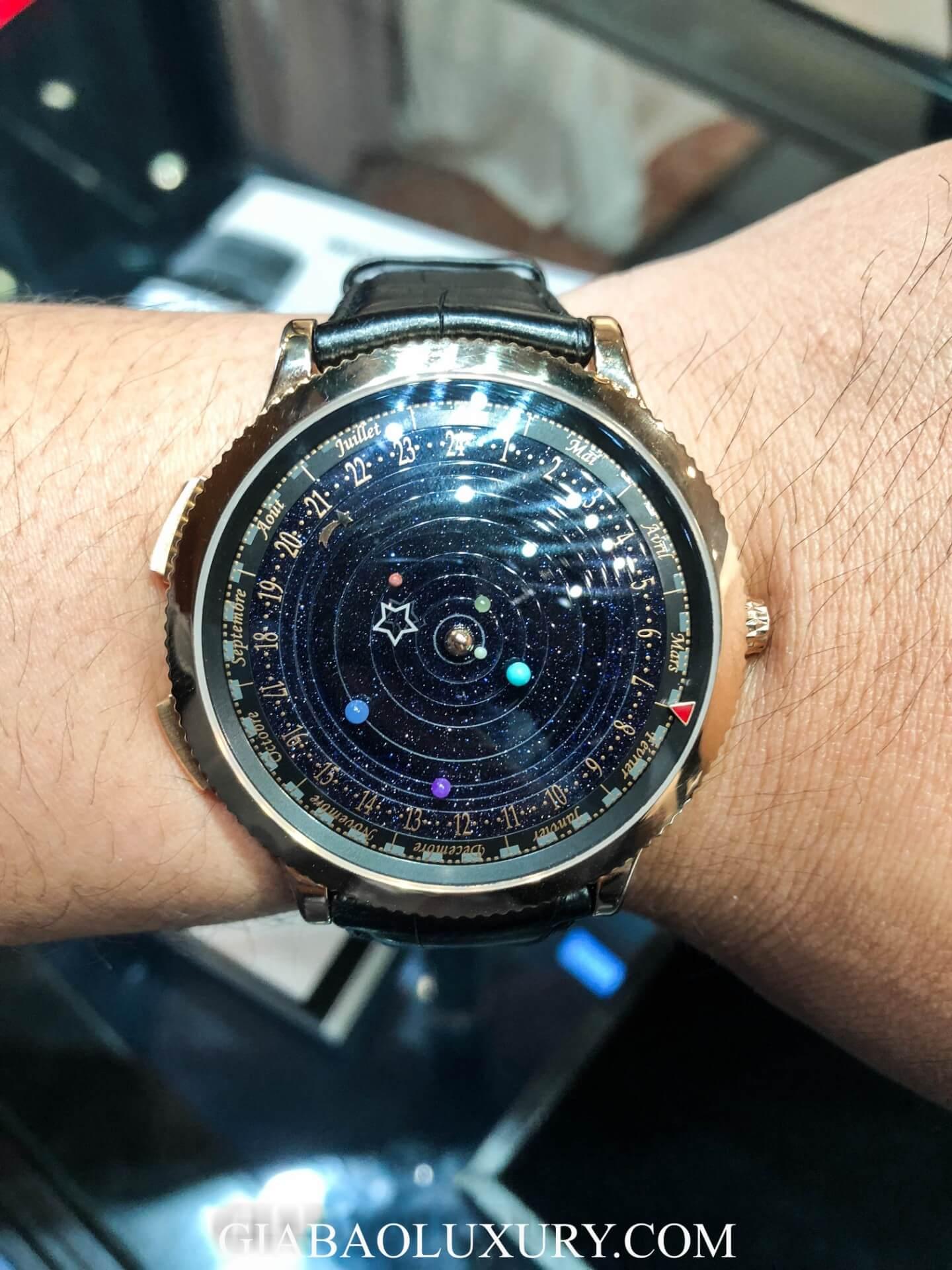 Đồng Hồ Van Cleef & Arpels Midnight Planétarium VCARO4J000