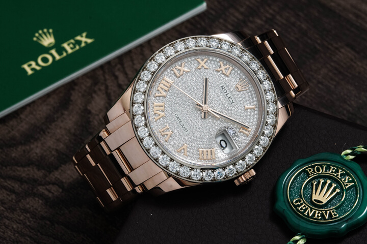 Rolex Pearlmaster 39 Everose Diamonds