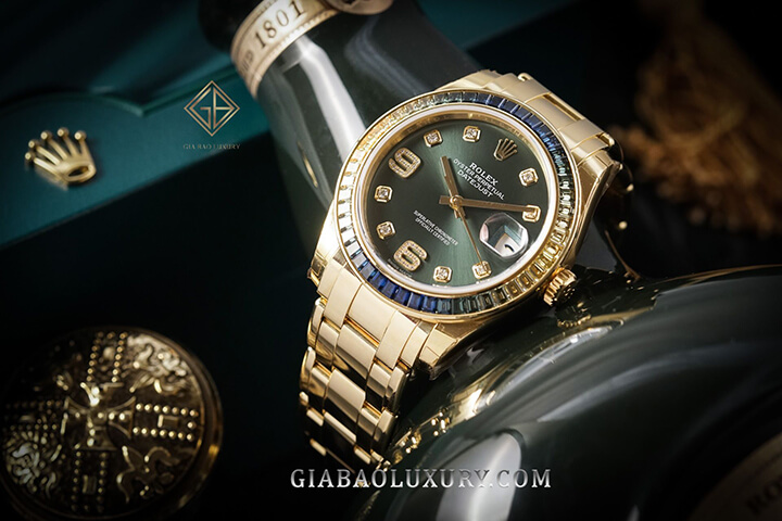 Rolex Pearlmaster 39 Olive