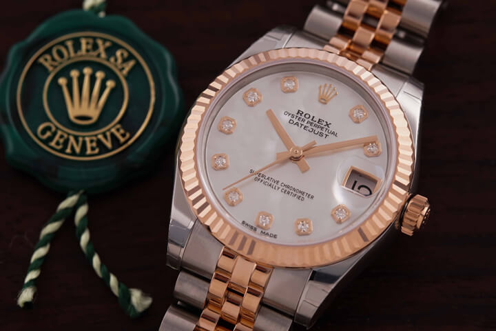 Rolex Datejust 31 Mother of Pearl