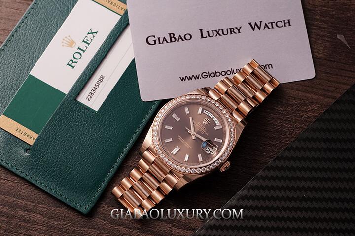 Rolex Day-Date 40 228345RBR