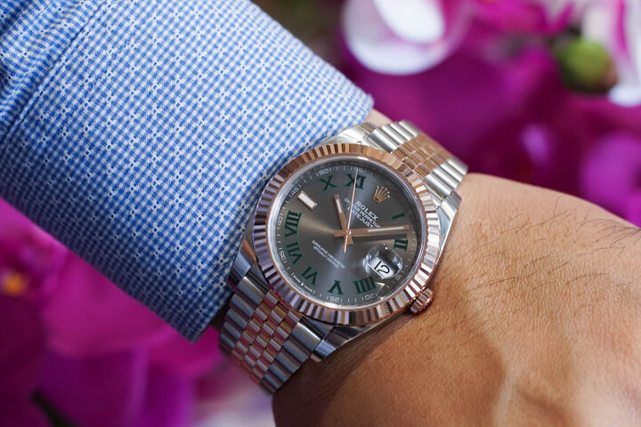 Rolex Datejust 41 Rhodium