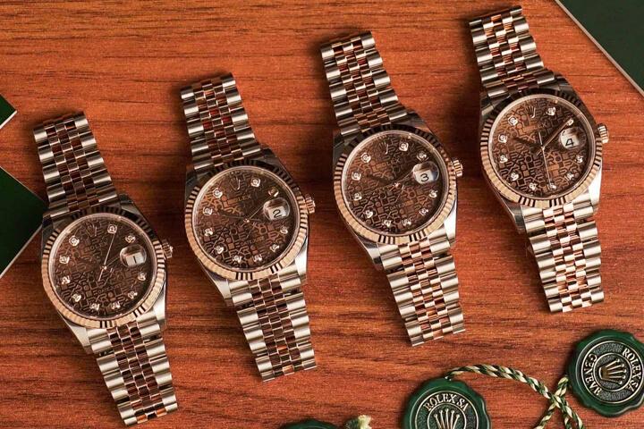 Rolex Datejust 36 Everose Rolesor