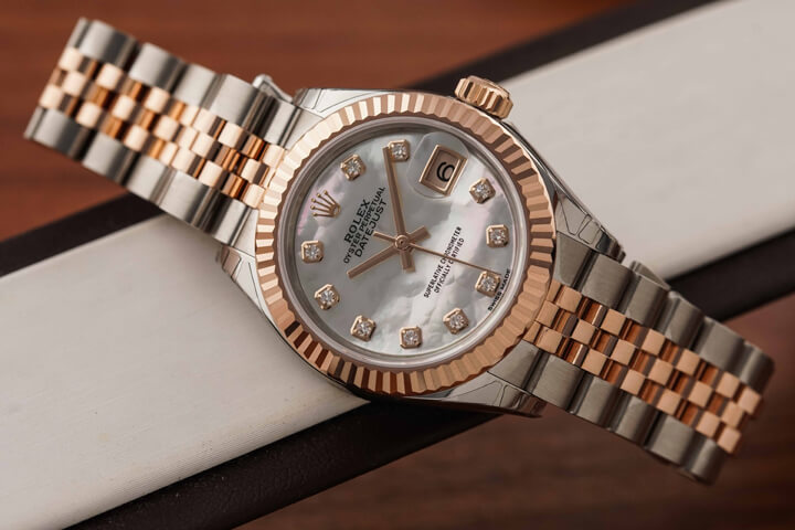 Rolex Datejust 28 Mother of Pearl