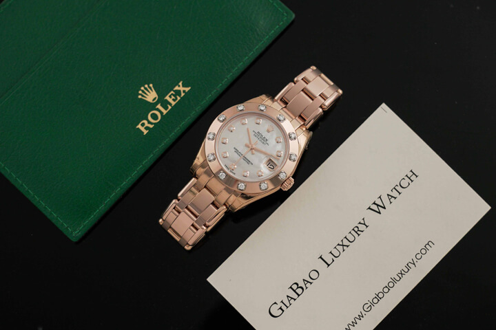 Rolex Pearlmaster 34 Mother of Pearl