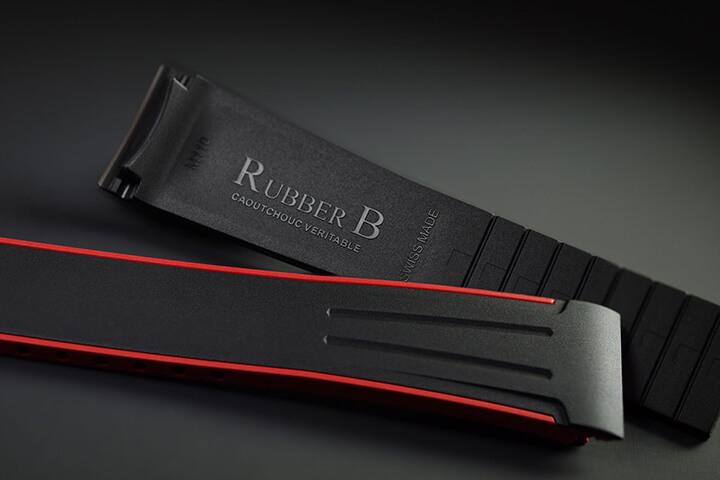 Dây đeo đồng hồ cao su Rubber B