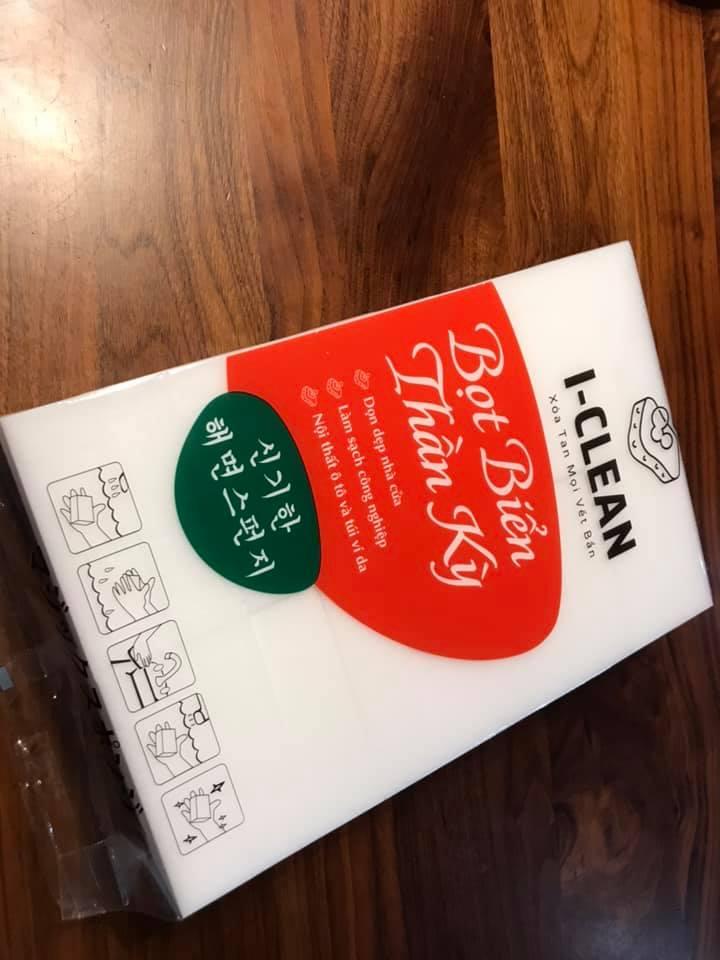 I-CLEAN Xốp Bọt Biển Hàn Quốc 10*6*3cm