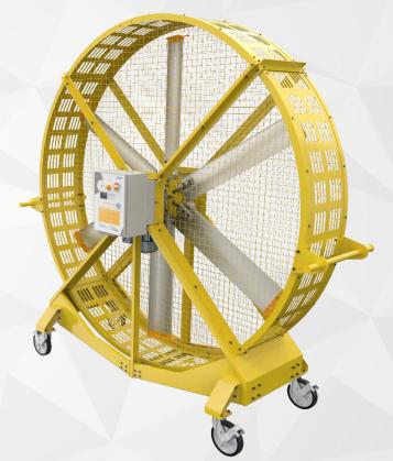 Quạt công nghiệp di động 1.1kW ( Industrial Mobile Fan)