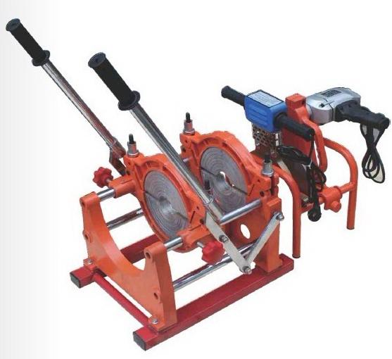 Máy hàn ống HDPE cơ tay đẩy và tay quay