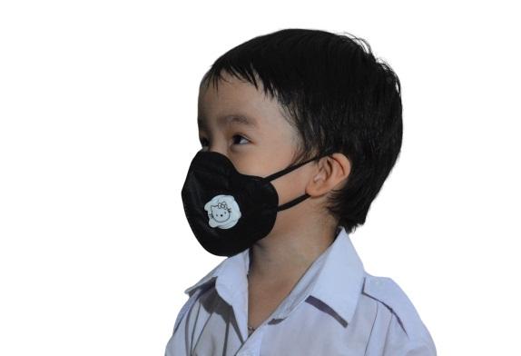 Khẩu trang lọc bụi mịn PM2.5 dành cho trẻ em