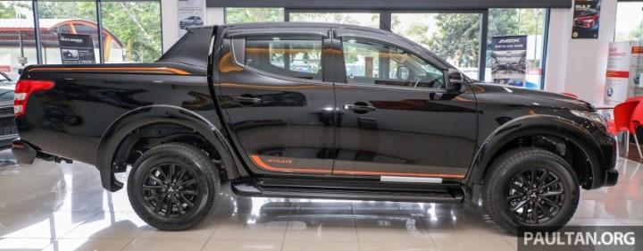 Thân xe của Mitsubishi Triton athele 2018
