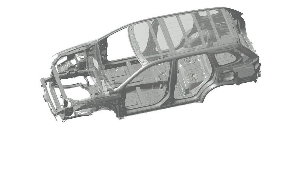 Khung xe RISE của xe Mitsubishi Outlander 2.0 STD 2018