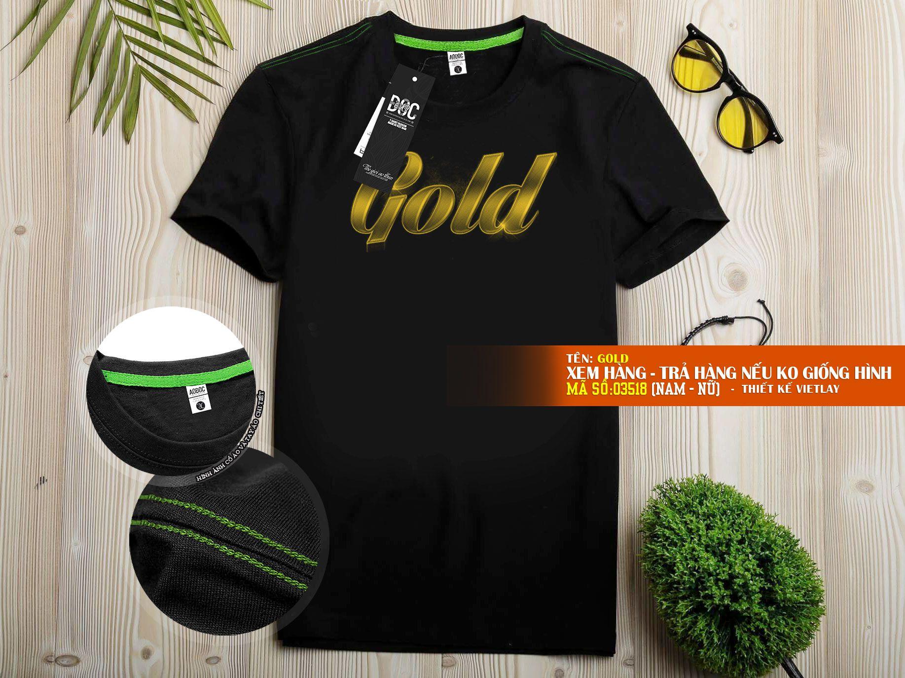 03518 Chữ Gold
