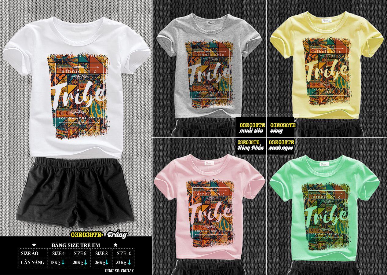 03e038TE Tribe Nhiều Màu
