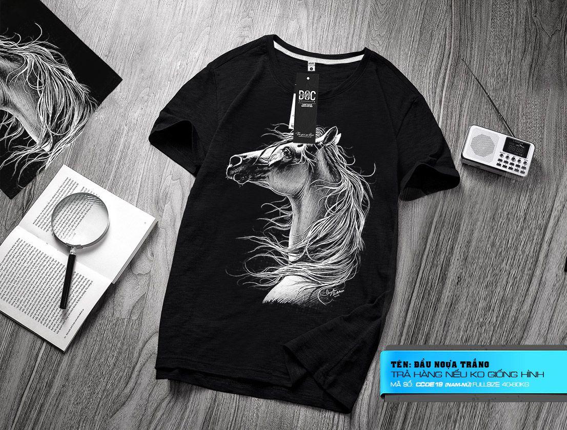 CC0e19 Ngựa trắng
