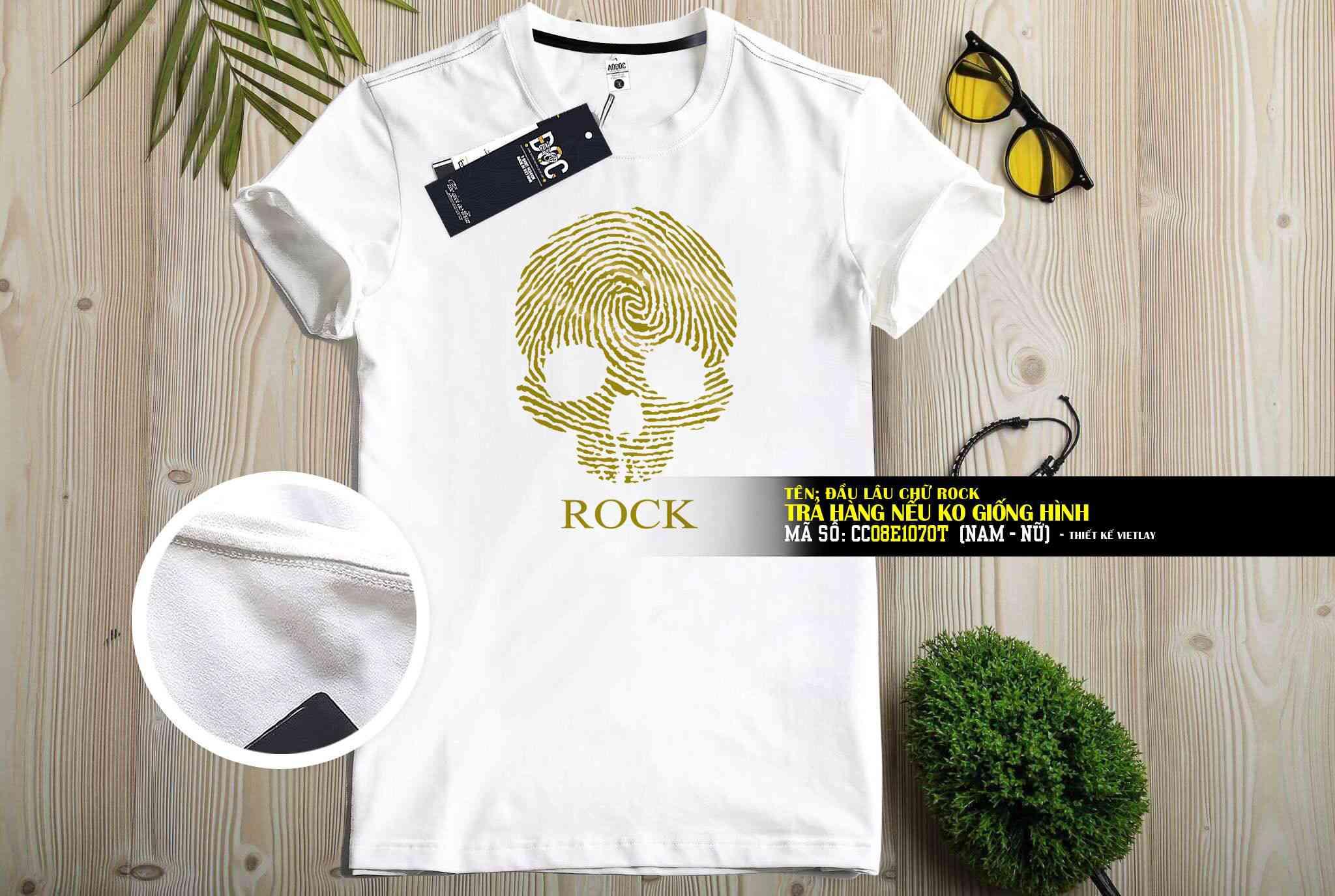 CC08E1070T Hộp Sọ Rock