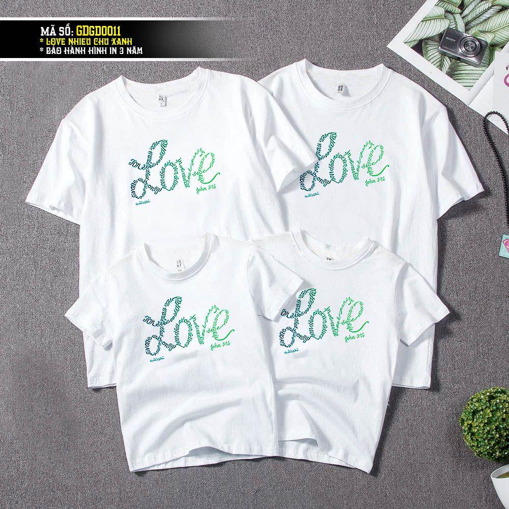 GD0011 LOVE XANH