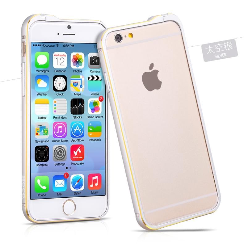 Viền iPhone 6 Hoco Blade Series Pc Trắng