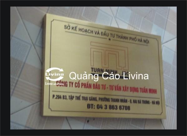 Biển đồng công ty Bảo Minh