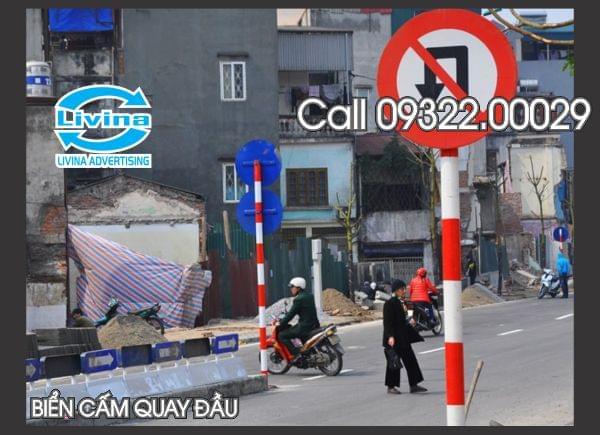Biển báo giao thông cấm quay đầu