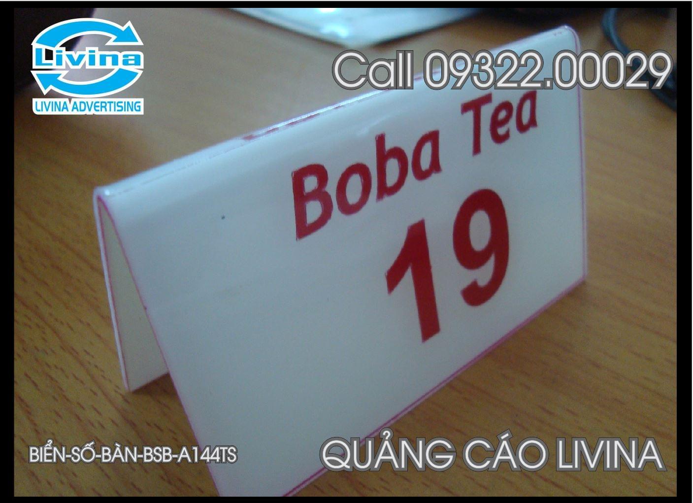 Biển Số bàn -BSB-AS144TS