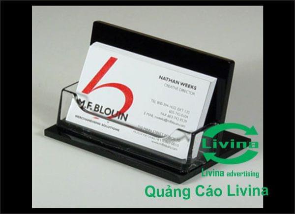 Kệ Cardvisit màu đen 1 ngăn - Kệ Card visit CARD05-B