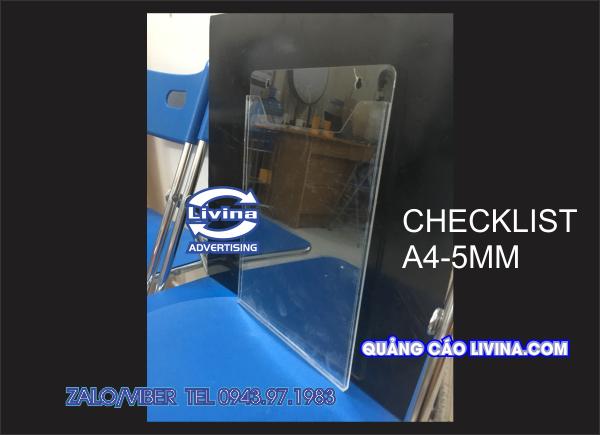 Checklist A4N-5mm