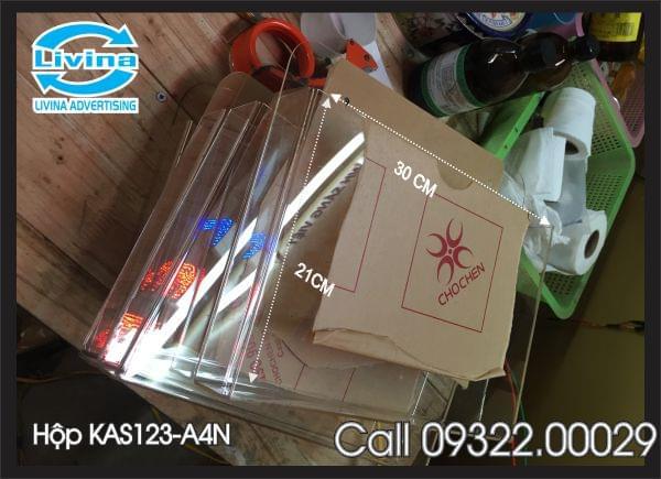 Checklist Hộp Mica KAS123-4N1N (A4 Ngang)