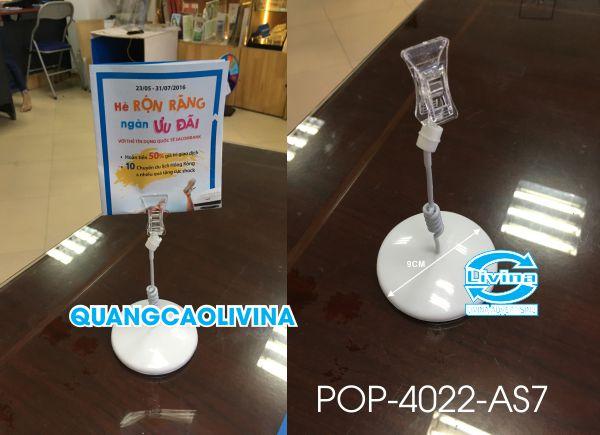 Kệ POP 4022-AS7-Trắng Sữa